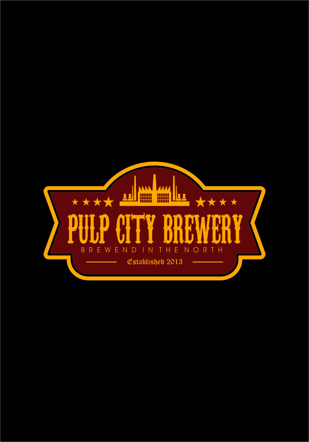Logo Design by RasYa Muhammad Athaya - Entry No. 65 in the Logo Design Contest Artistic Logo Design for Pulp City Brewery.