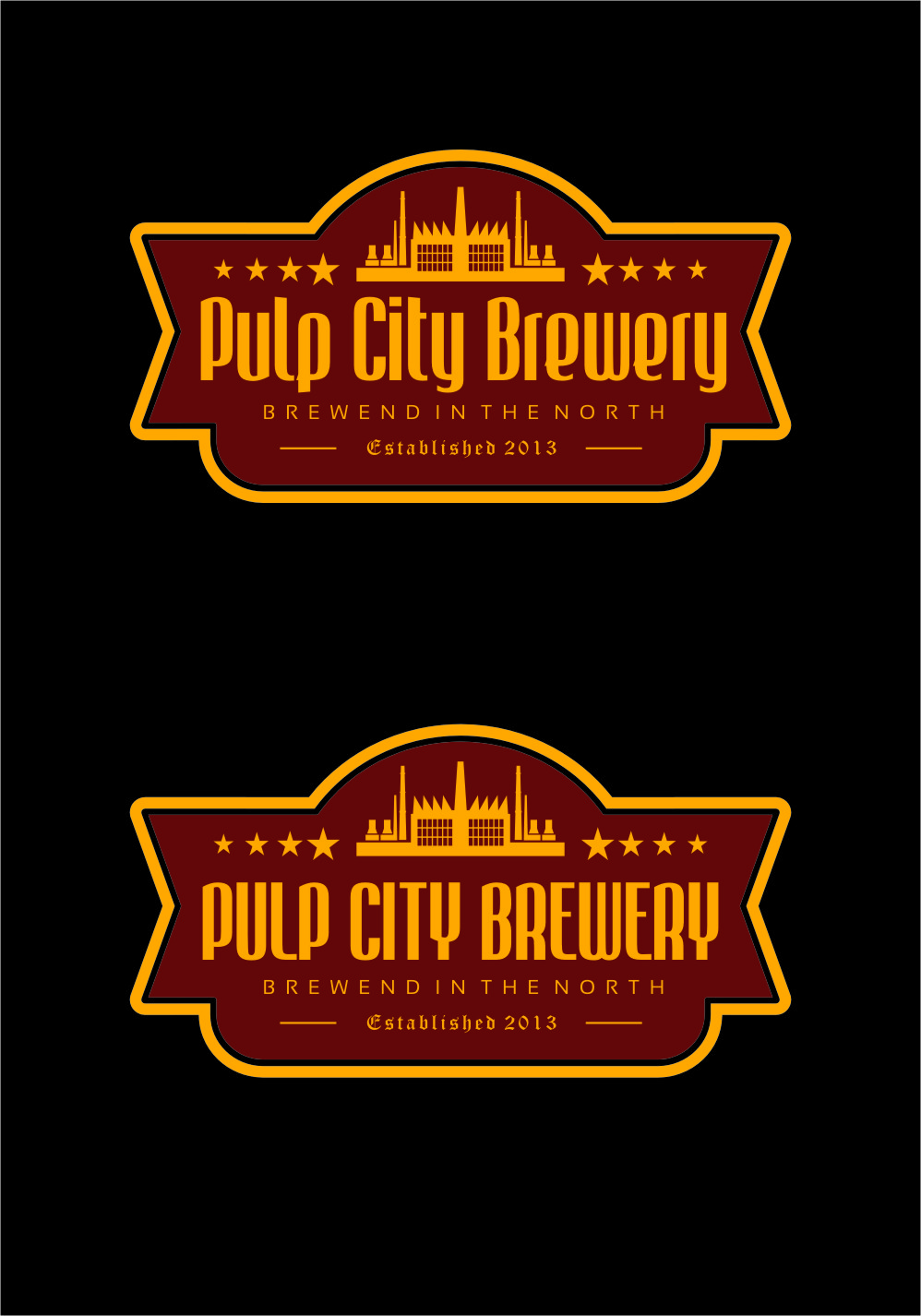 Logo Design by RoSyid Rono-Rene On Java - Entry No. 66 in the Logo Design Contest Artistic Logo Design for Pulp City Brewery.
