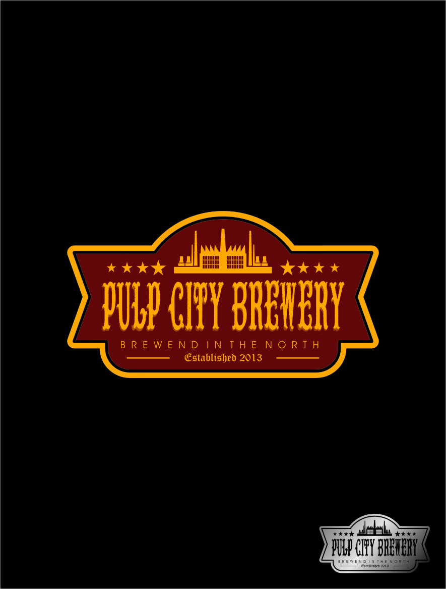Logo Design by Ngepet_art - Entry No. 67 in the Logo Design Contest Artistic Logo Design for Pulp City Brewery.