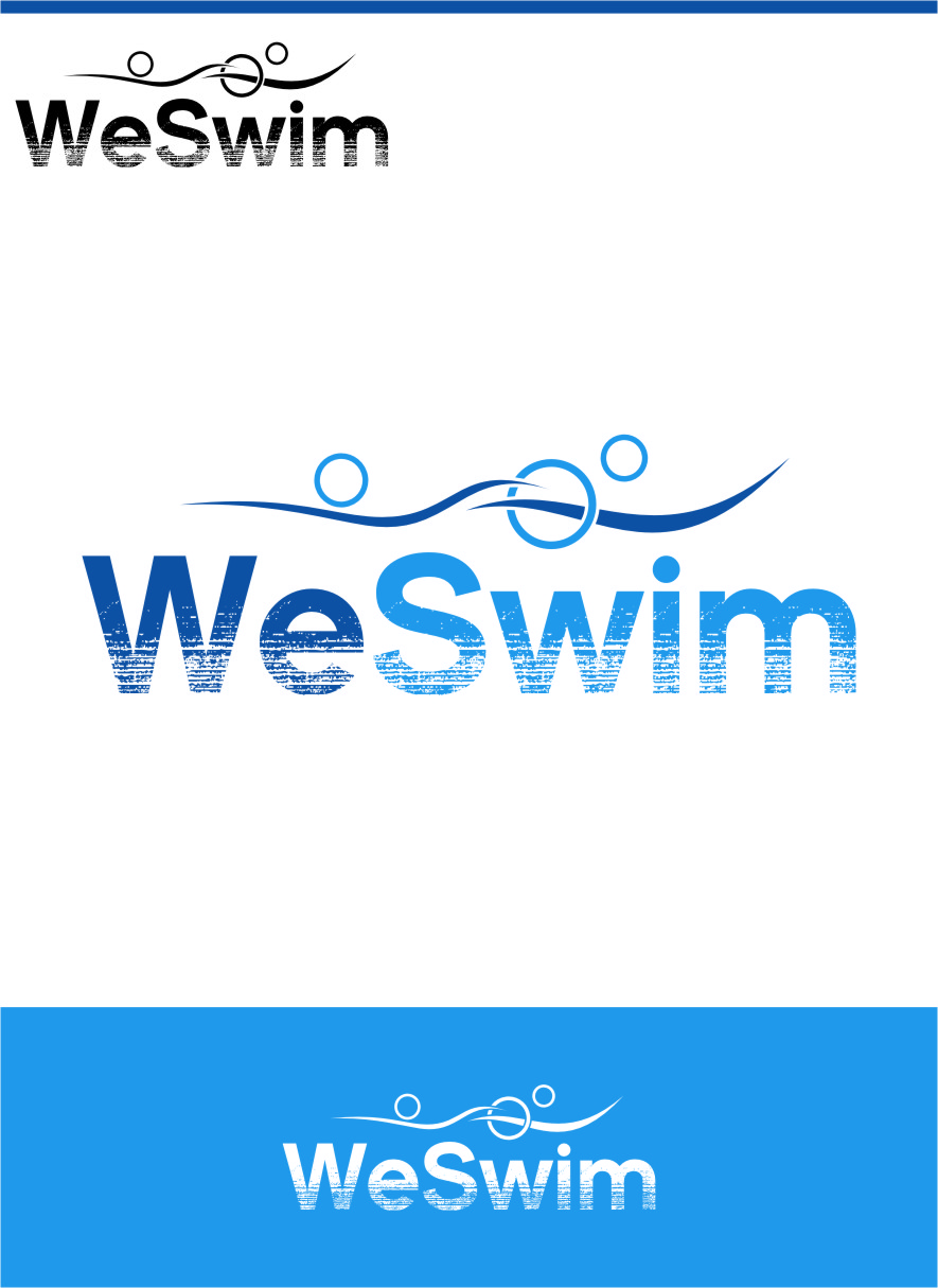 Logo Design by Ngepet_art - Entry No. 77 in the Logo Design Contest Captivating Logo Design for We Swim.