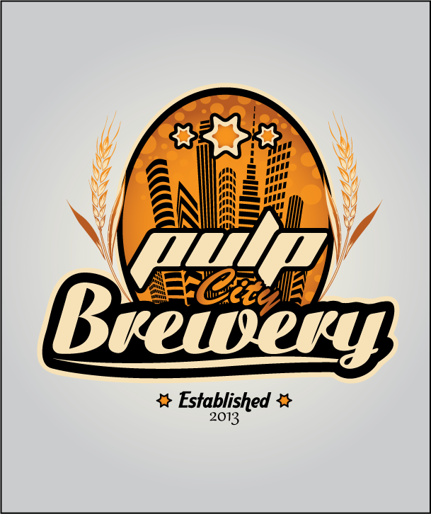 Logo Design by Ashesh Gaurav - Entry No. 68 in the Logo Design Contest Artistic Logo Design for Pulp City Brewery.