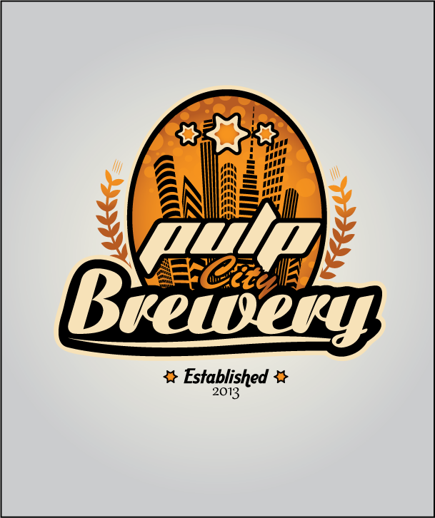 Logo Design by Ashesh Gaurav - Entry No. 69 in the Logo Design Contest Artistic Logo Design for Pulp City Brewery.