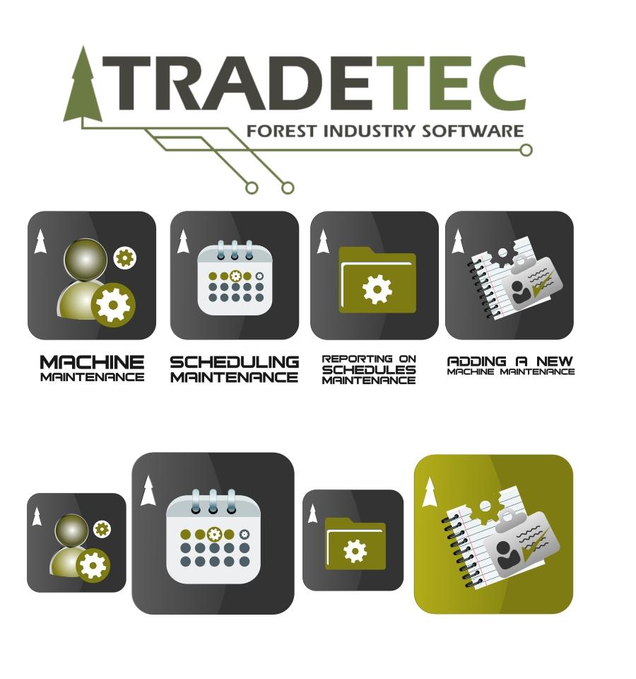 Button & Icon Design by Private User - Entry No. 10 in the Button & Icon Design Contest Creative Button & Icon Design for TradeTec Computer Systems Ltd..