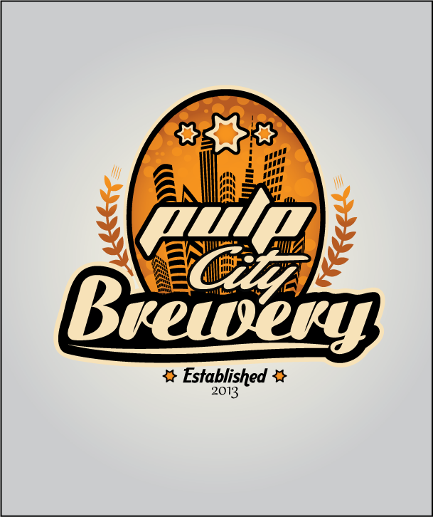 Logo Design by Ashesh Gaurav - Entry No. 70 in the Logo Design Contest Artistic Logo Design for Pulp City Brewery.