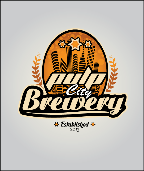 Logo Design by Ashesh Gaurav - Entry No. 71 in the Logo Design Contest Artistic Logo Design for Pulp City Brewery.