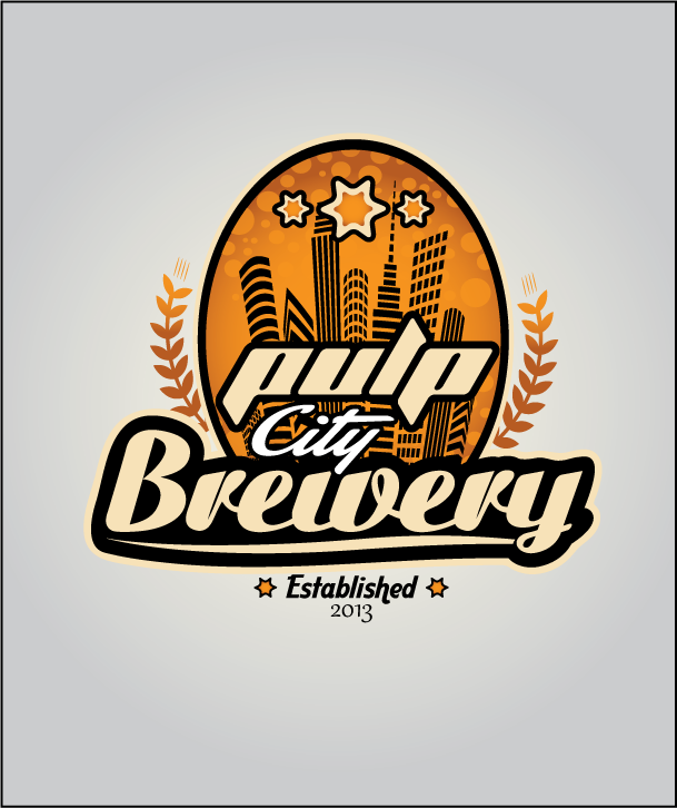 Logo Design by Ashesh Gaurav - Entry No. 72 in the Logo Design Contest Artistic Logo Design for Pulp City Brewery.