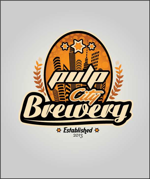 Logo Design by Ashesh Gaurav - Entry No. 73 in the Logo Design Contest Artistic Logo Design for Pulp City Brewery.