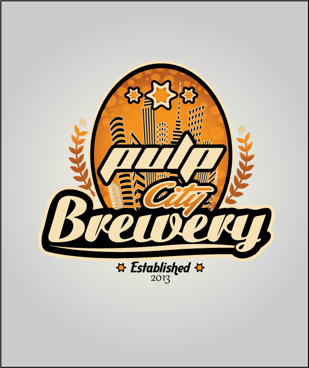 Logo Design by Ashesh Gaurav - Entry No. 74 in the Logo Design Contest Artistic Logo Design for Pulp City Brewery.