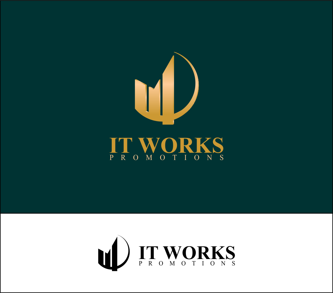 Logo Design by Agus Martoyo - Entry No. 89 in the Logo Design Contest Creative Logo Design for It Works Promotions.