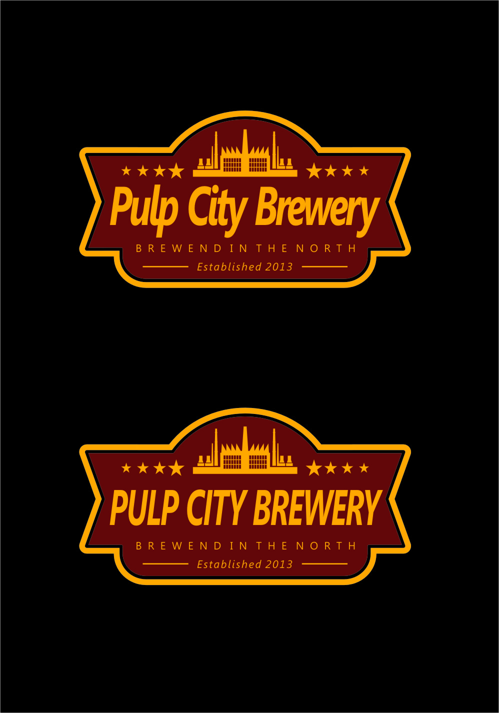 Logo Design by Ngepet_art - Entry No. 75 in the Logo Design Contest Artistic Logo Design for Pulp City Brewery.
