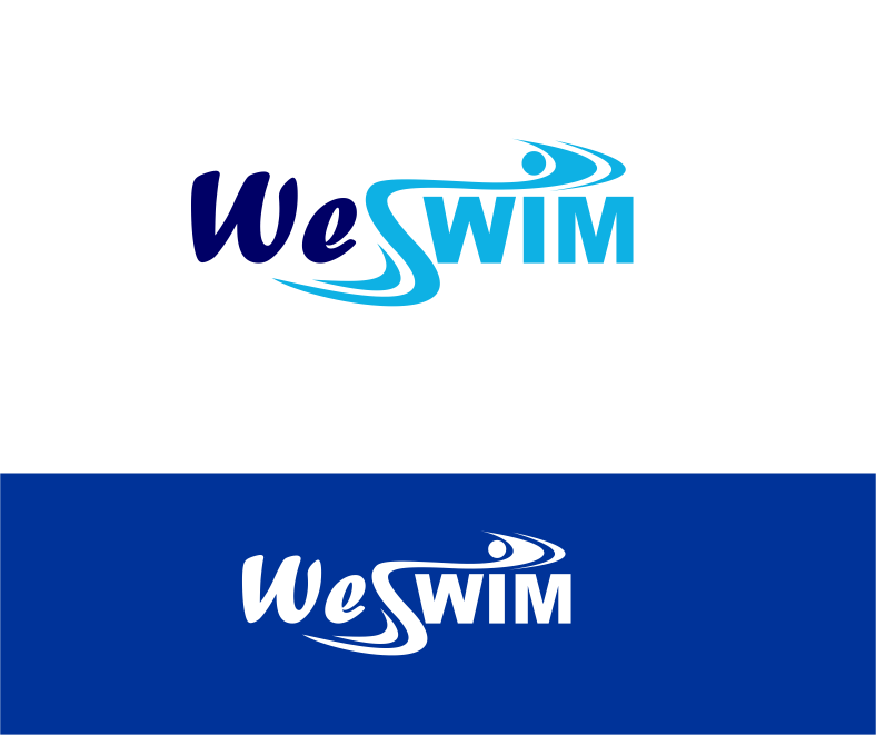 Logo Design by Agus Martoyo - Entry No. 87 in the Logo Design Contest Captivating Logo Design for We Swim.