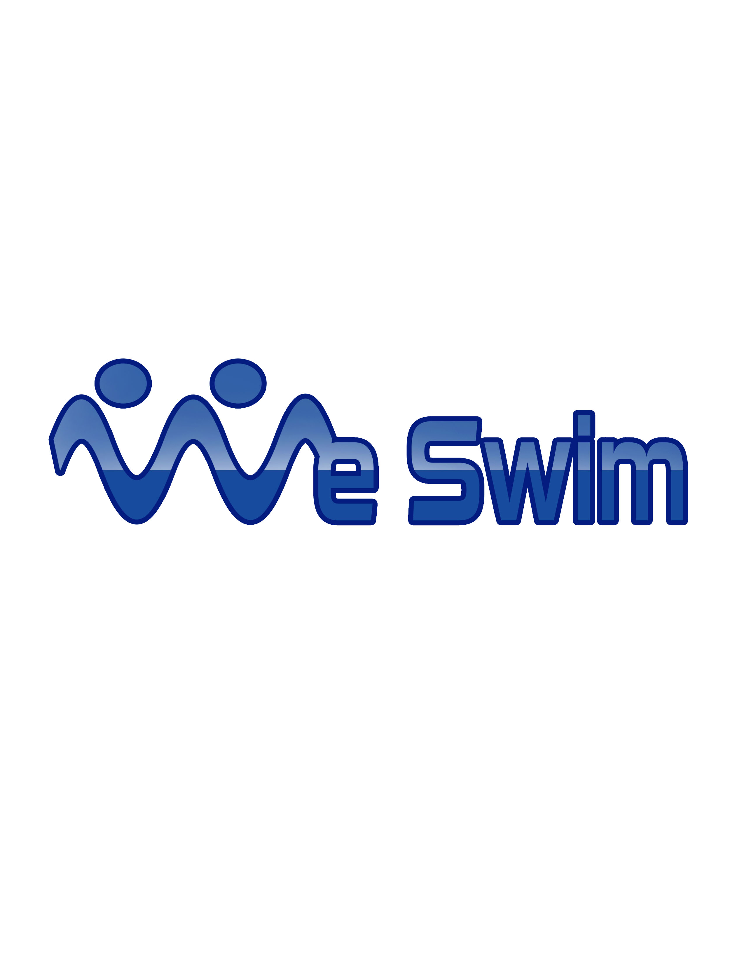 Logo Design by Mary Ann Balantac - Entry No. 88 in the Logo Design Contest Captivating Logo Design for We Swim.