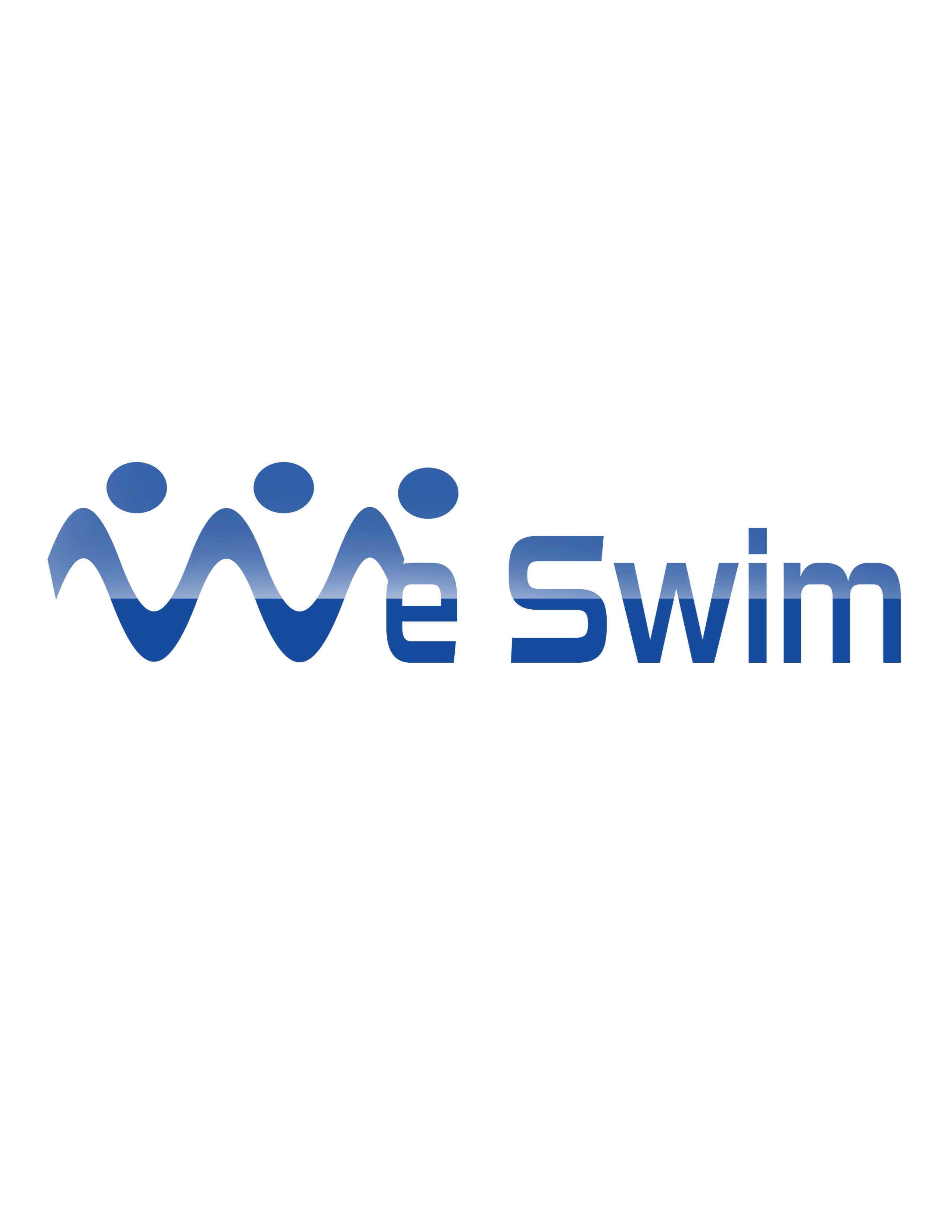 Logo Design by Mary Ann Balantac - Entry No. 89 in the Logo Design Contest Captivating Logo Design for We Swim.