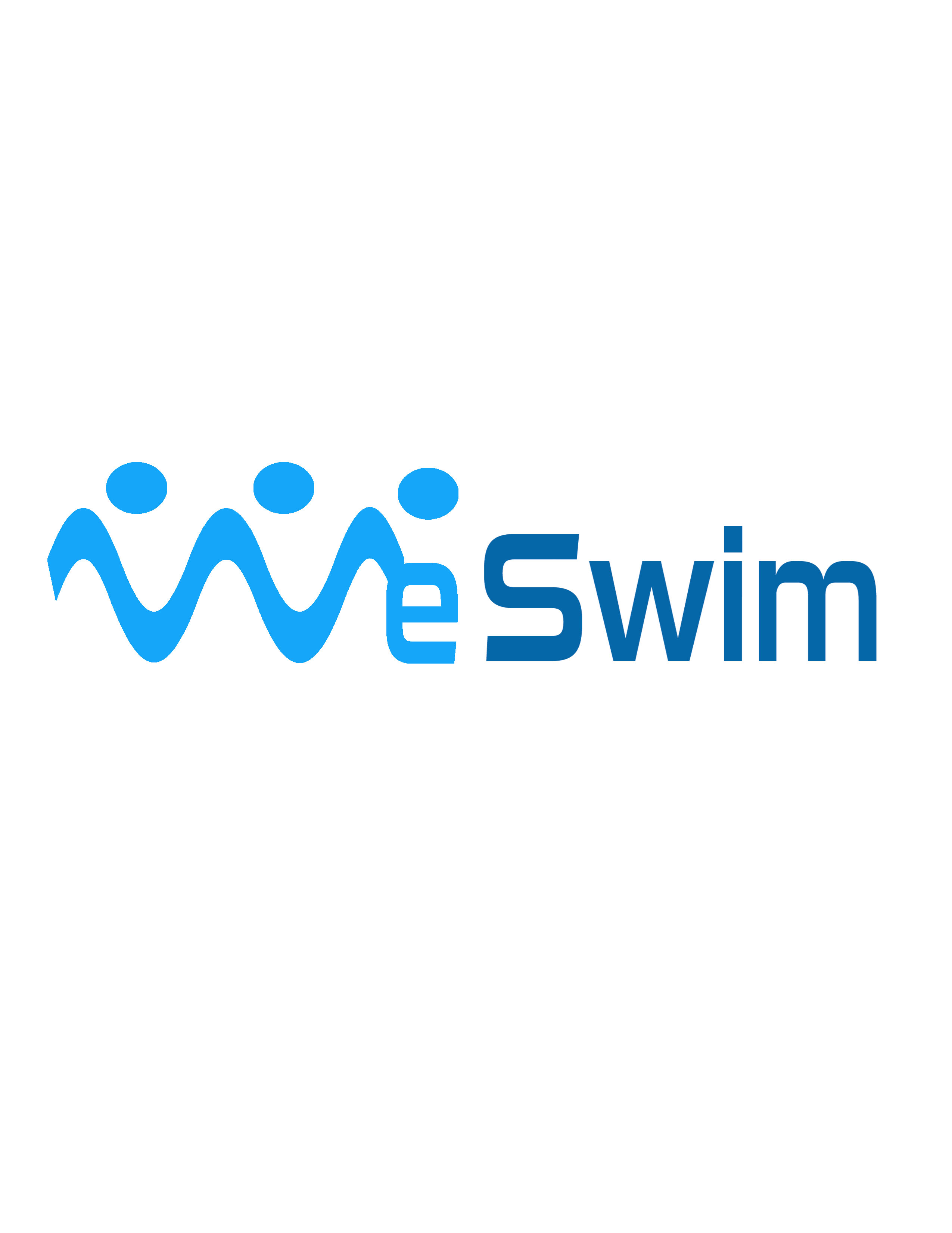 Logo Design by Mary Ann Balantac - Entry No. 91 in the Logo Design Contest Captivating Logo Design for We Swim.
