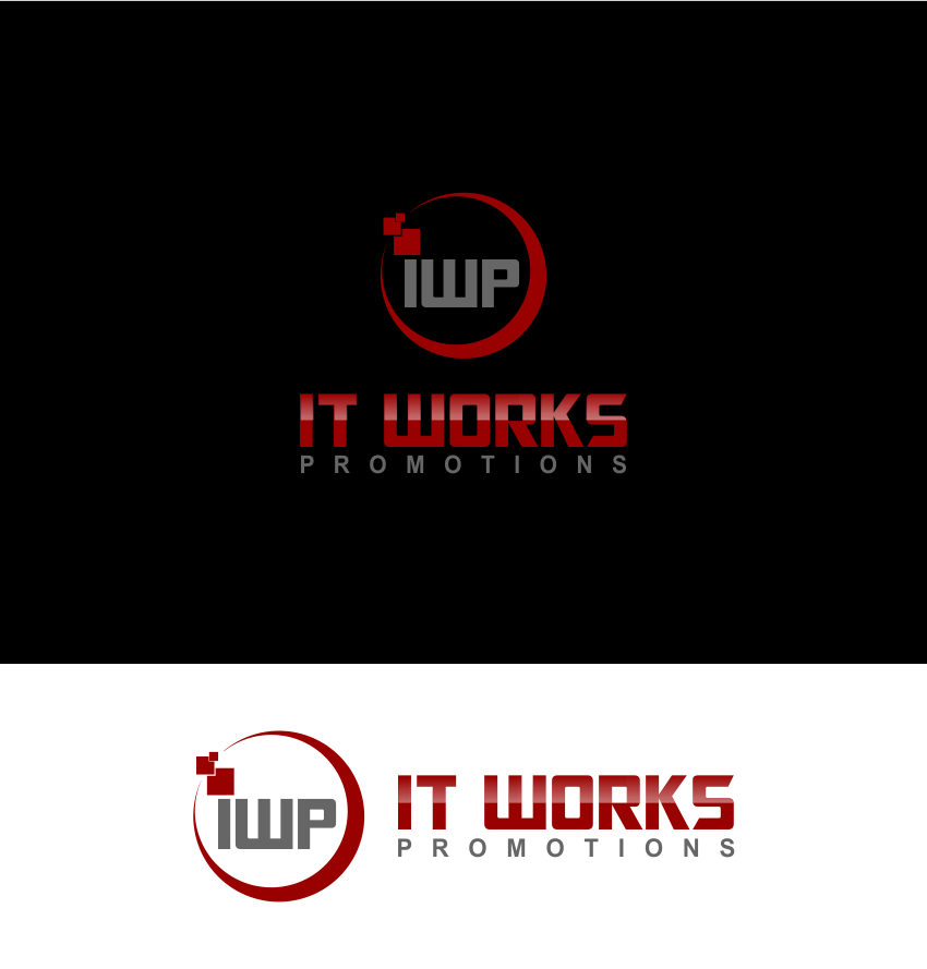 Logo Design by Agus Martoyo - Entry No. 91 in the Logo Design Contest Creative Logo Design for It Works Promotions.