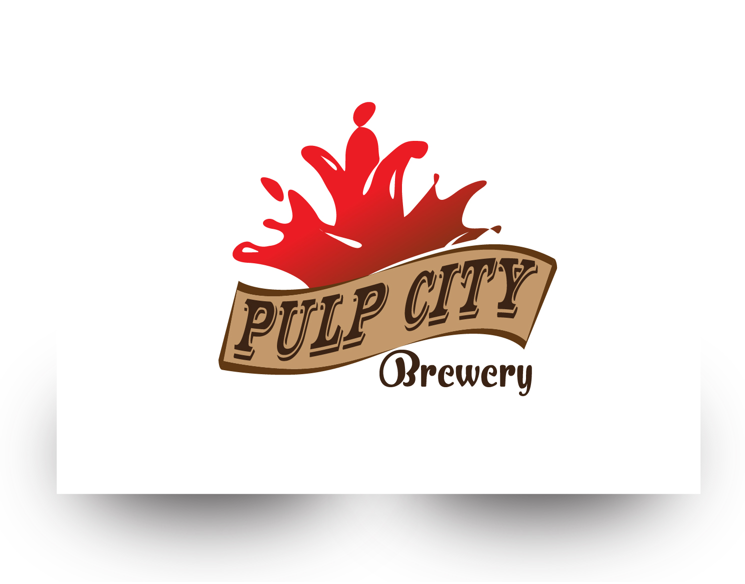 Logo Design by demang - Entry No. 76 in the Logo Design Contest Artistic Logo Design for Pulp City Brewery.