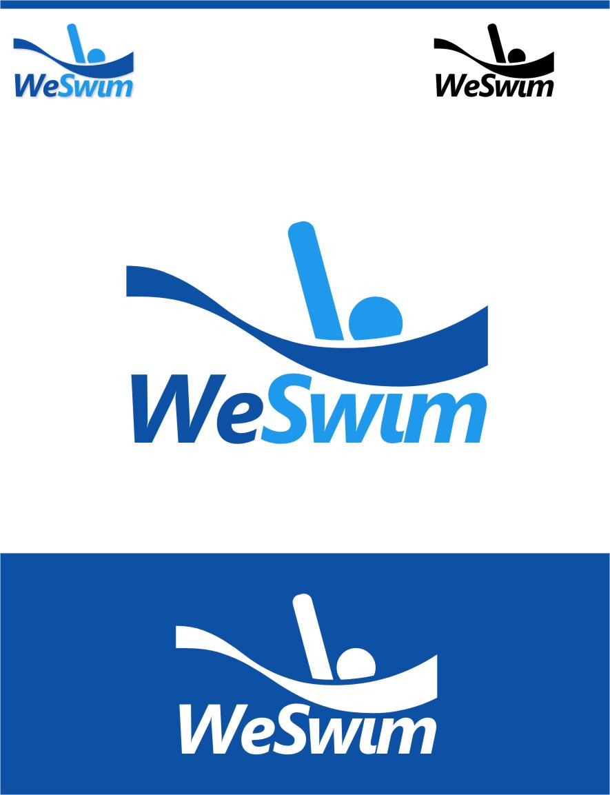 Logo Design by RasYa Muhammad Athaya - Entry No. 92 in the Logo Design Contest Captivating Logo Design for We Swim.