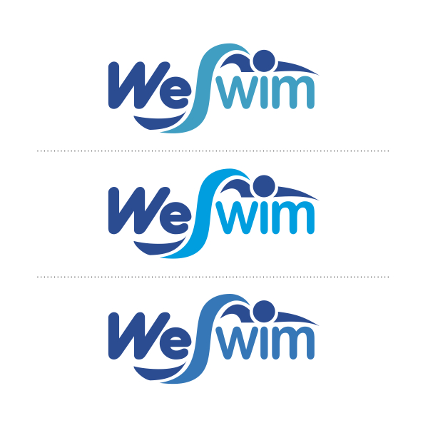 Logo Design by Private User - Entry No. 93 in the Logo Design Contest Captivating Logo Design for We Swim.