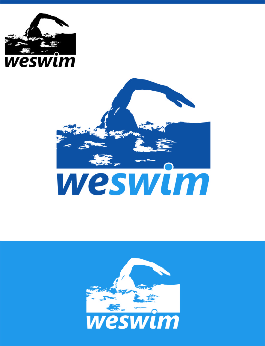 Logo Design by Ngepet_art - Entry No. 94 in the Logo Design Contest Captivating Logo Design for We Swim.