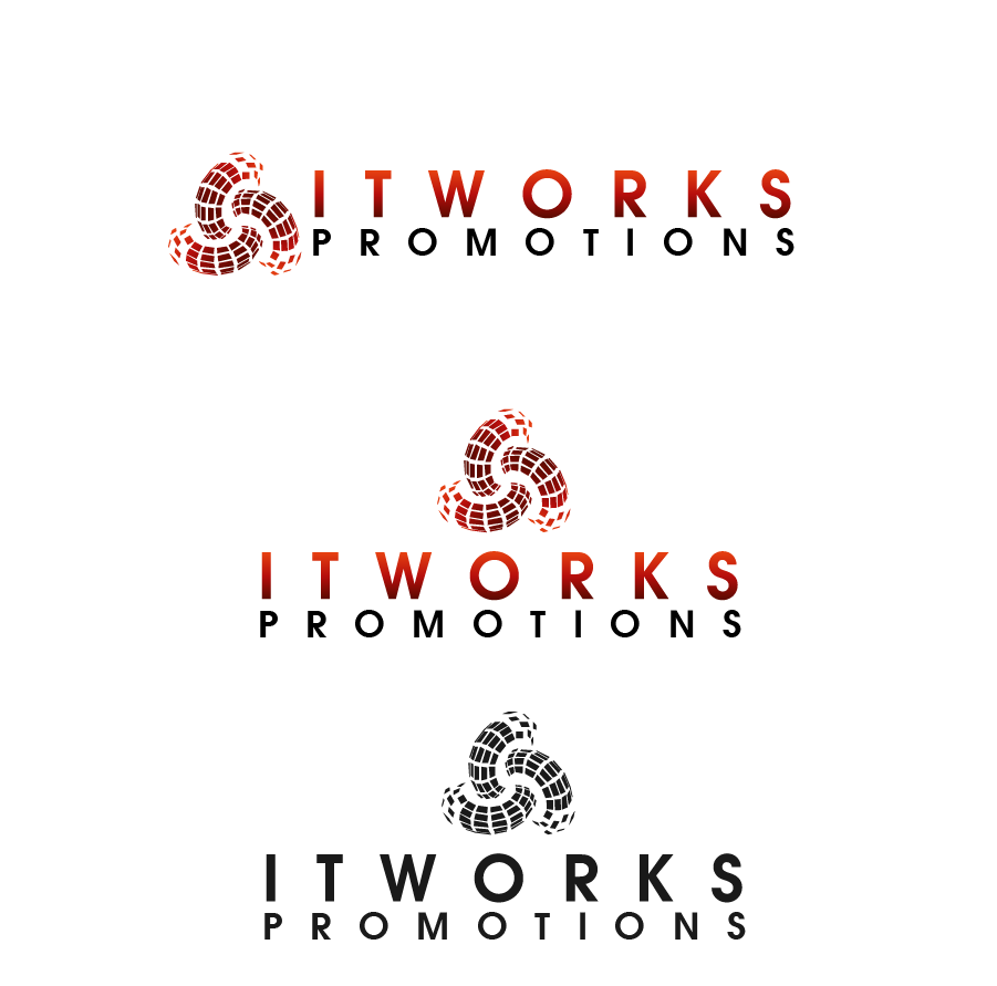 Logo Design by brands_in - Entry No. 100 in the Logo Design Contest Creative Logo Design for It Works Promotions.