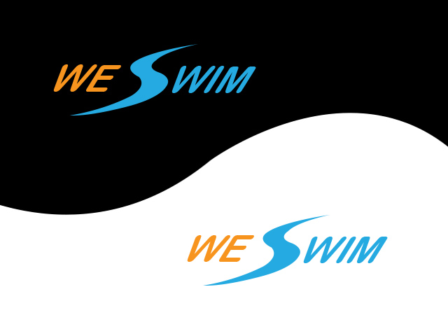 Logo Design by Kyaw Min Khaing - Entry No. 96 in the Logo Design Contest Captivating Logo Design for We Swim.