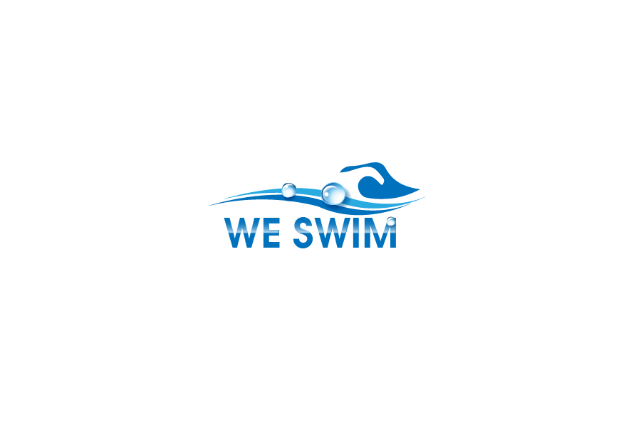 Logo Design by Private User - Entry No. 97 in the Logo Design Contest Captivating Logo Design for We Swim.