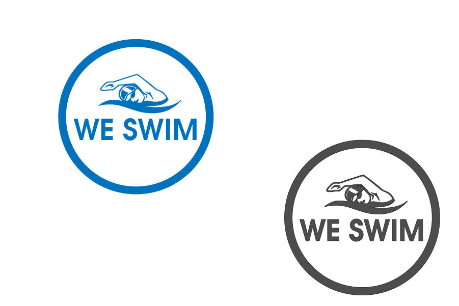 Logo Design by brands_in - Entry No. 99 in the Logo Design Contest Captivating Logo Design for We Swim.