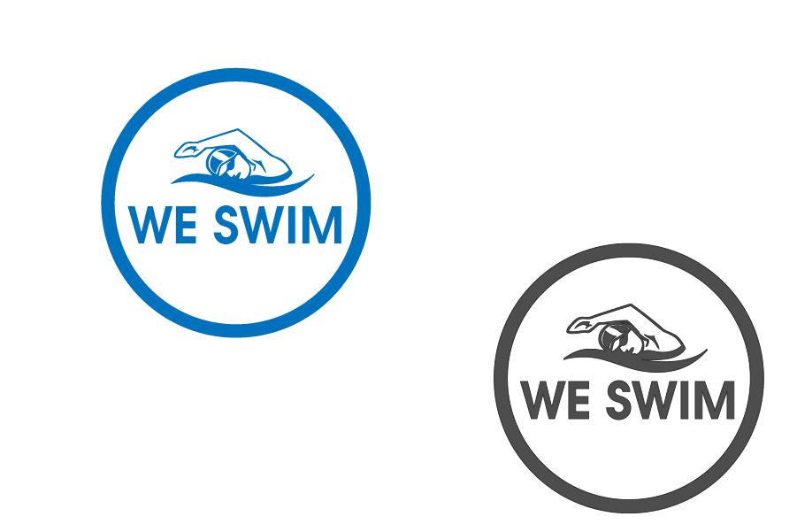 Logo Design by brands_in - Entry No. 99 in the Logo Design Contest Captivating Logo Design for We Swim.