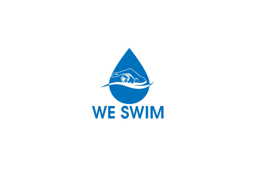 Logo Design by brands_in - Entry No. 100 in the Logo Design Contest Captivating Logo Design for We Swim.