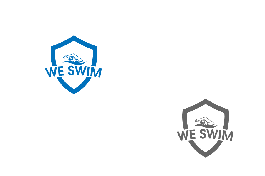 Logo Design by brands_in - Entry No. 101 in the Logo Design Contest Captivating Logo Design for We Swim.