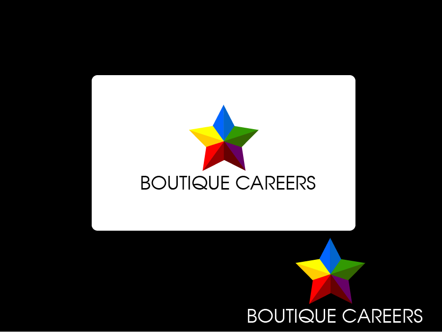 Logo Design by Private User - Entry No. 24 in the Logo Design Contest Captivating Logo Design for Boutique Careers.
