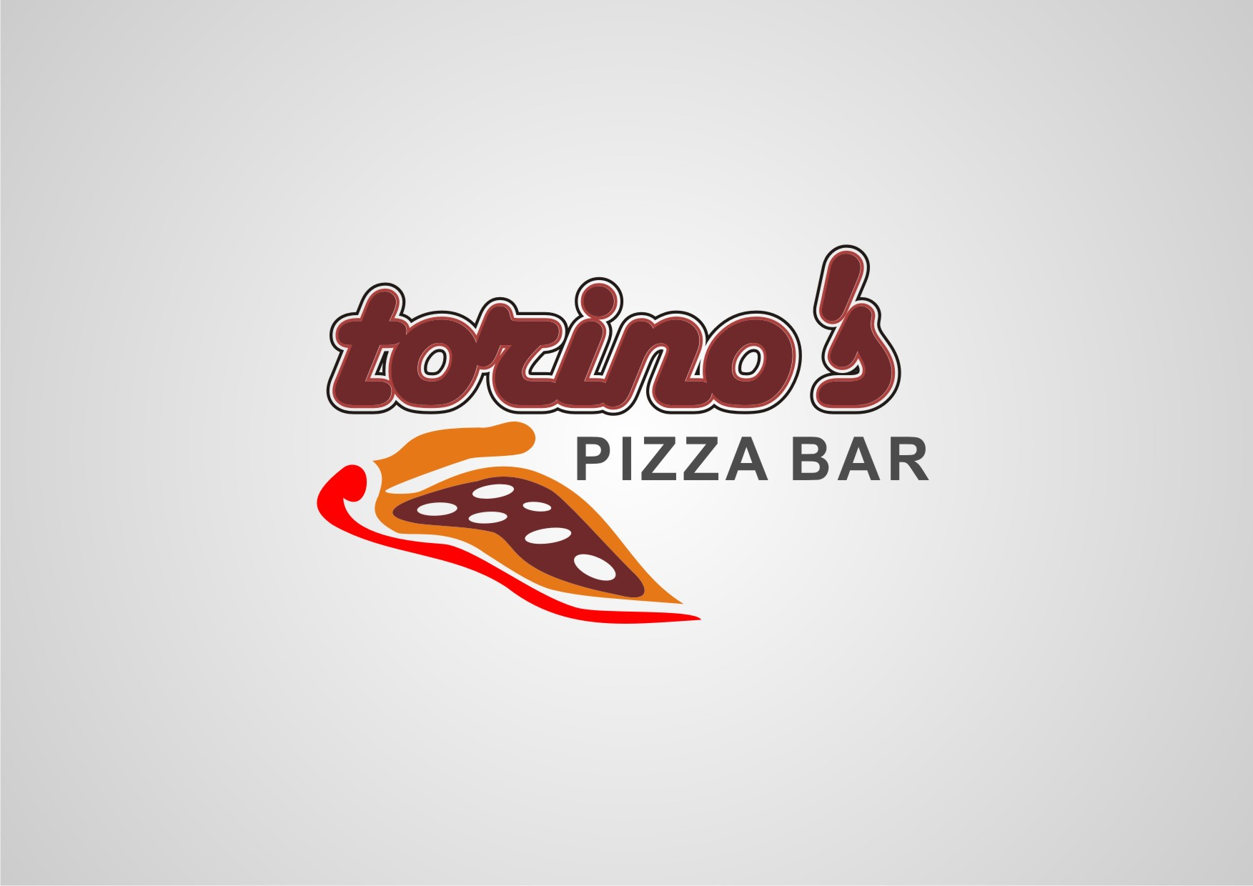Custom Design by Private User - Entry No. 7 in the Custom Design Contest Torino's Pizza Bar Custom Design.