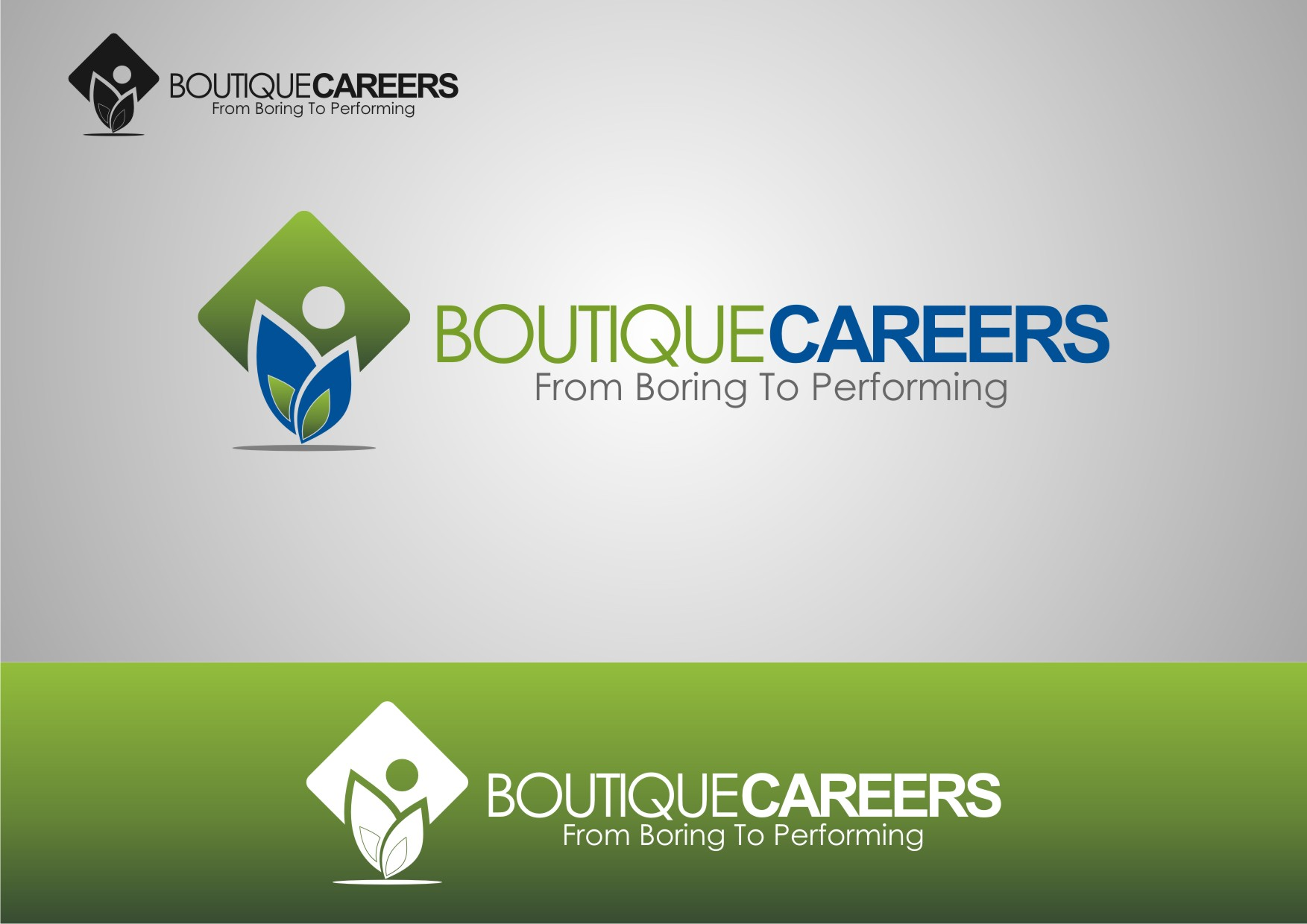 Logo Design by Private User - Entry No. 32 in the Logo Design Contest Captivating Logo Design for Boutique Careers.