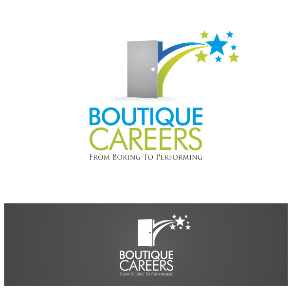 Logo Design by Private User - Entry No. 39 in the Logo Design Contest Captivating Logo Design for Boutique Careers.
