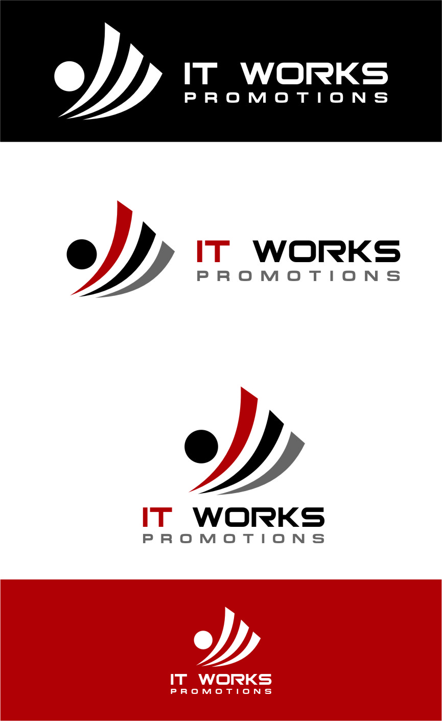 Logo Design by Ngepet_art - Entry No. 136 in the Logo Design Contest Creative Logo Design for It Works Promotions.