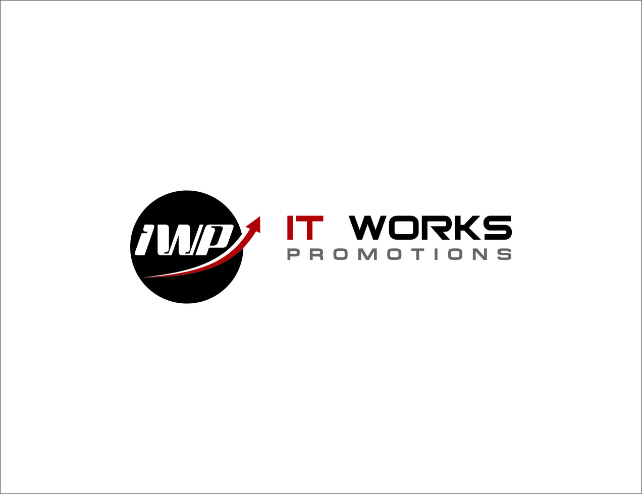 Logo Design by RasYa Muhammad Athaya - Entry No. 139 in the Logo Design Contest Creative Logo Design for It Works Promotions.
