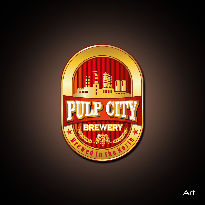 Logo Design by Puspita Wahyuni - Entry No. 85 in the Logo Design Contest Artistic Logo Design for Pulp City Brewery.