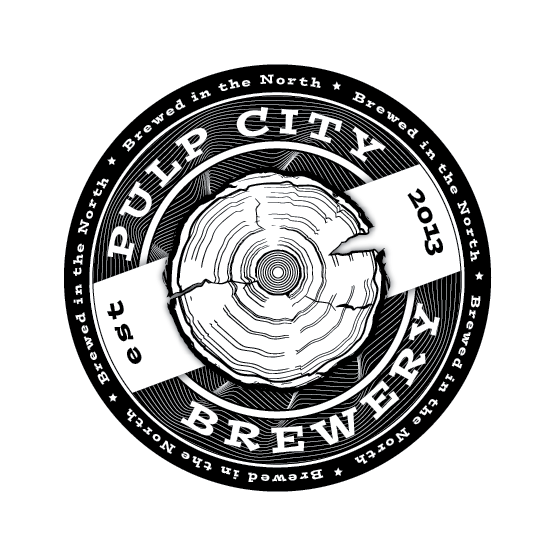 Logo Design by Chris Cowan - Entry No. 88 in the Logo Design Contest Artistic Logo Design for Pulp City Brewery.