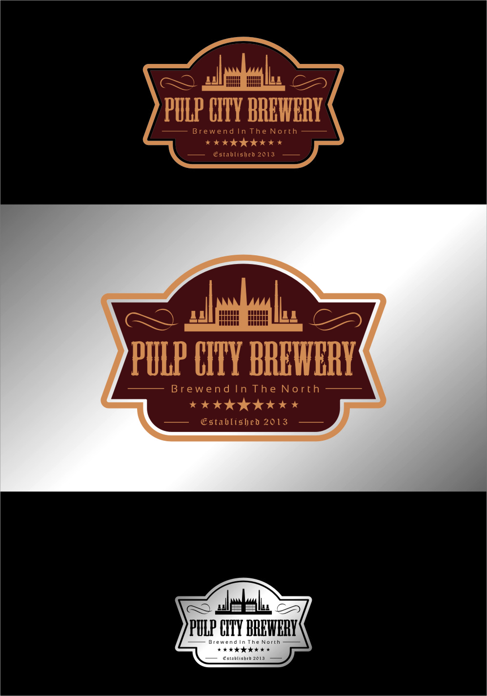 Logo Design by RasYa Muhammad Athaya - Entry No. 89 in the Logo Design Contest Artistic Logo Design for Pulp City Brewery.