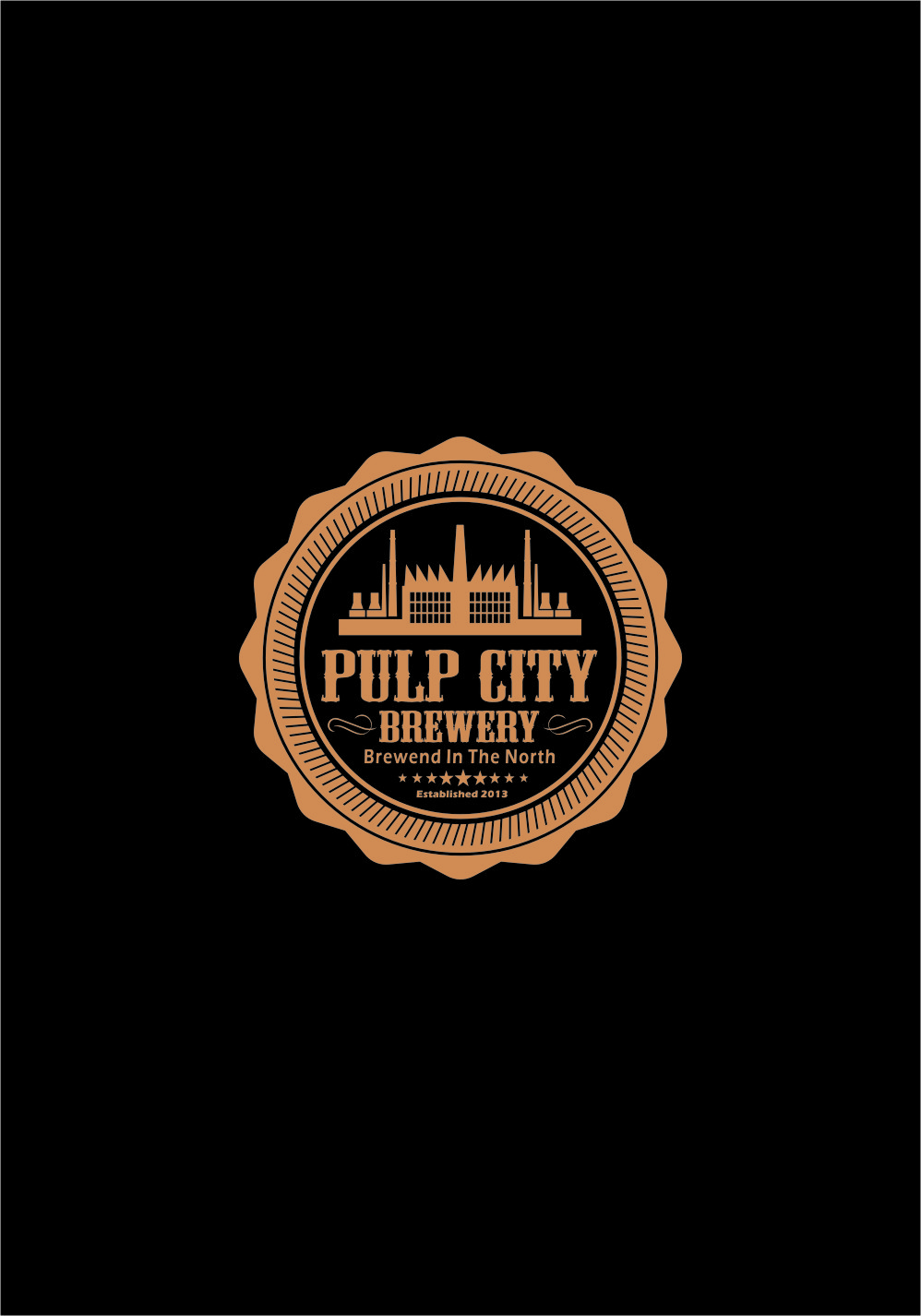 Logo Design by Ngepet_art - Entry No. 90 in the Logo Design Contest Artistic Logo Design for Pulp City Brewery.