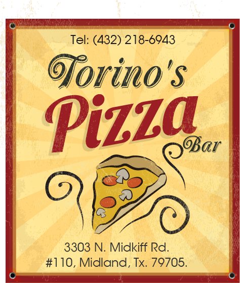 Custom Design by Private User - Entry No. 12 in the Custom Design Contest Torino's Pizza Bar Custom Design.