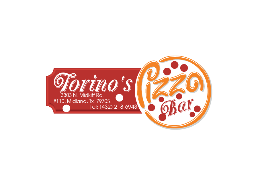 Custom Design by Private User - Entry No. 14 in the Custom Design Contest Torino's Pizza Bar Custom Design.