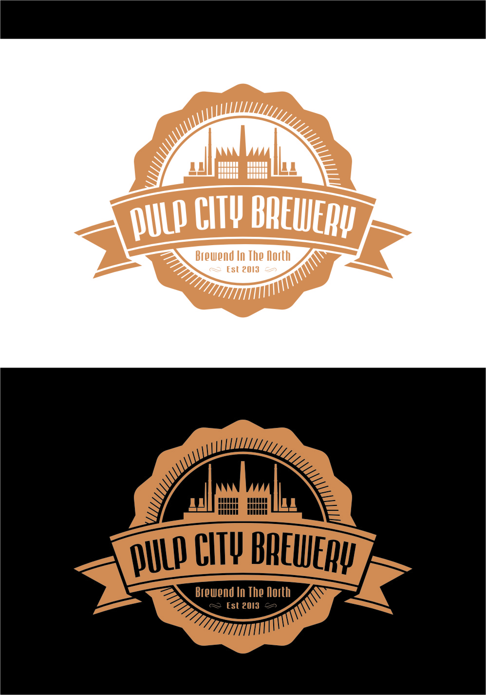 Logo Design by RasYa Muhammad Athaya - Entry No. 91 in the Logo Design Contest Artistic Logo Design for Pulp City Brewery.