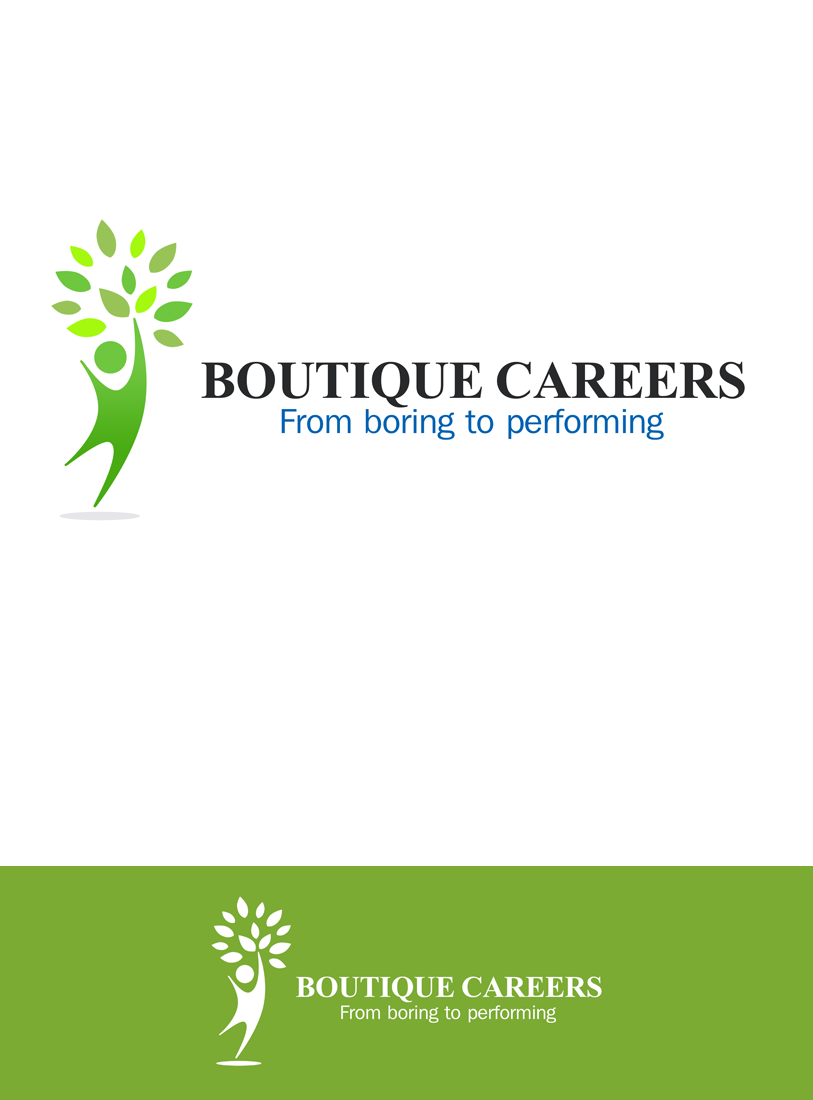 Logo Design by Private User - Entry No. 42 in the Logo Design Contest Captivating Logo Design for Boutique Careers.