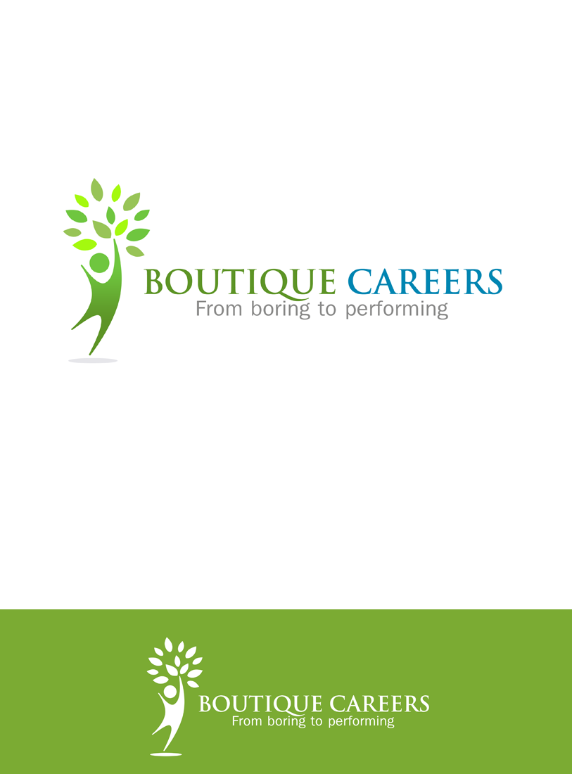 Logo Design by Private User - Entry No. 49 in the Logo Design Contest Captivating Logo Design for Boutique Careers.