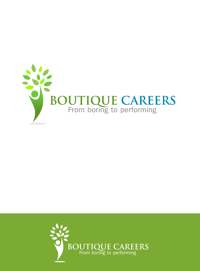 Logo Design by Private User - Entry No. 50 in the Logo Design Contest Captivating Logo Design for Boutique Careers.