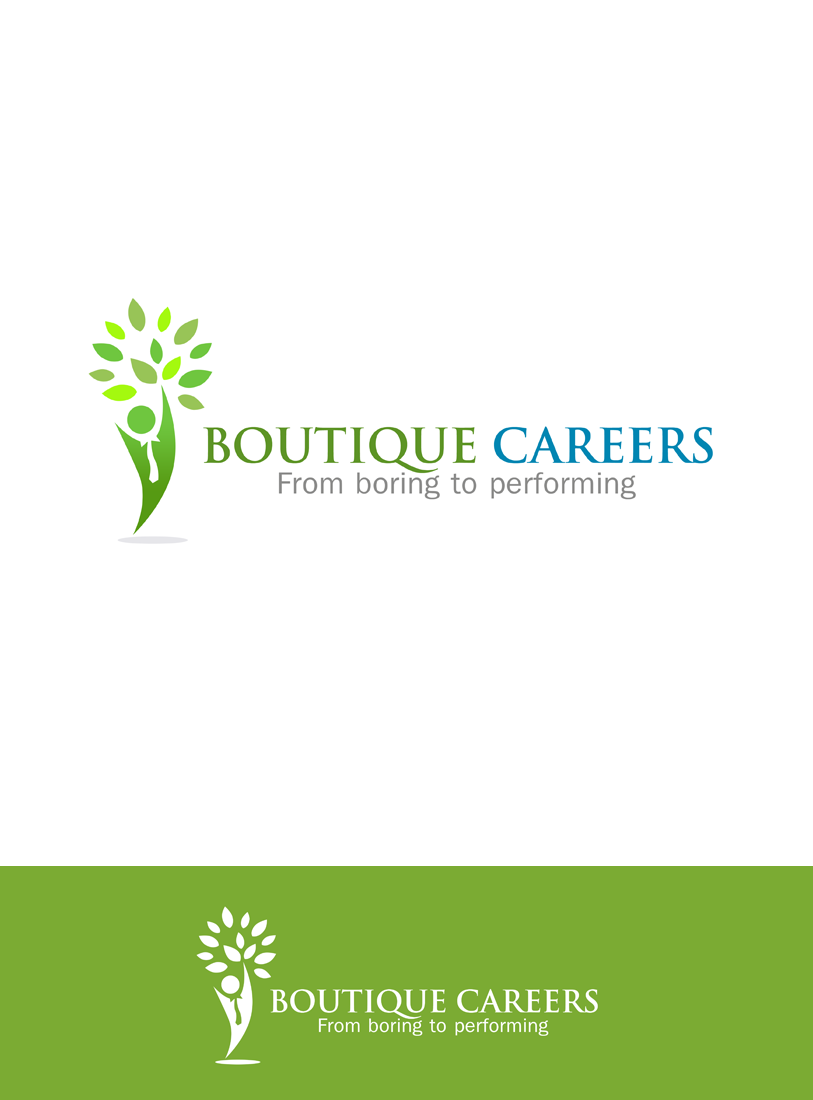 Logo Design by Private User - Entry No. 51 in the Logo Design Contest Captivating Logo Design for Boutique Careers.