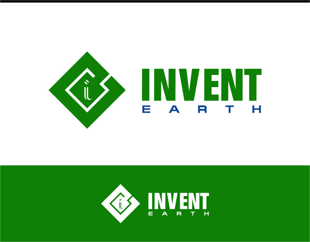 Logo Design by Ngepet_art - Entry No. 14 in the Logo Design Contest Artistic Logo Design for Invent Earth.