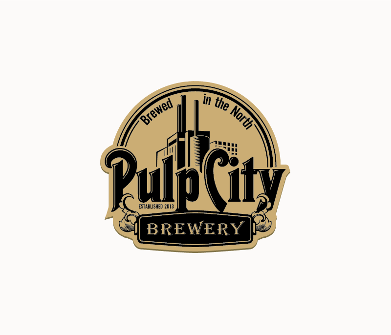 Logo Design by Private User - Entry No. 99 in the Logo Design Contest Artistic Logo Design for Pulp City Brewery.