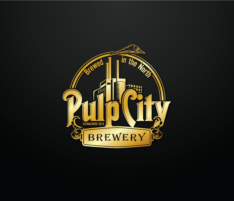 Logo Design by Private User - Entry No. 100 in the Logo Design Contest Artistic Logo Design for Pulp City Brewery.